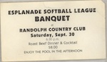 BSL Banquet Ticket 1978